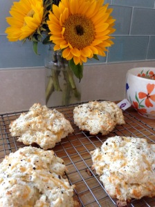 Rosemary:Cheddar Biscuits