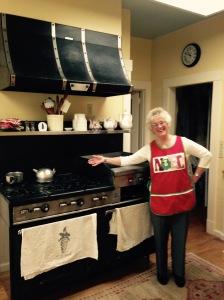 Mom and stove 2