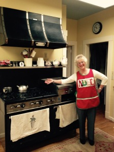 Mom and stove 2
