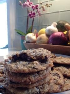 Chunky Vampire Cookies