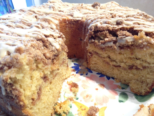 Sour Cream Coffee Cake 2